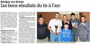 Est Républicain du 01 02 2014 concours Fagnières