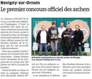 Est Républicain du 28 12 2013 concours Mailly en Champagne