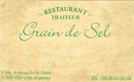 Grain de sel traiteur